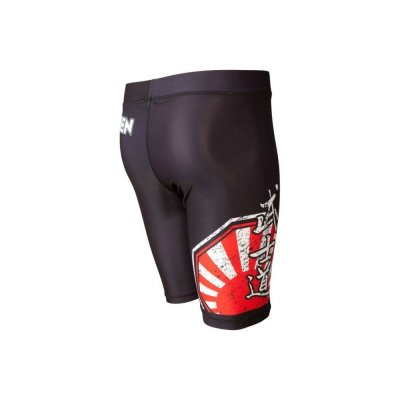 Kompressziós nadrág, Top Ten, MMA Sunrise, fekete/piros