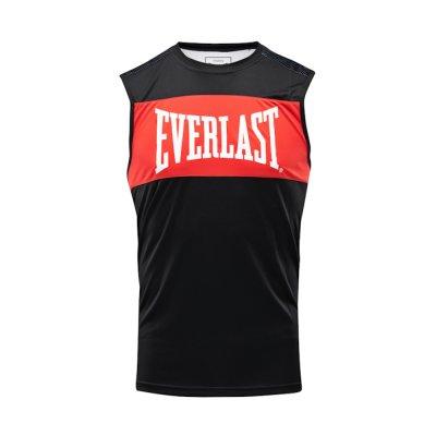 Box trikó, Everlast, Jab, férfi, Fekete-piros szín, M méret