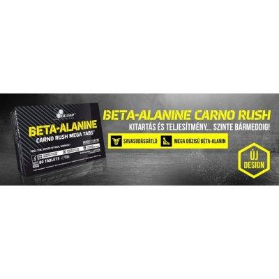 Olimp, Beta-Alanine Carno Rush Tabs® , karnozin, 80 tabletta