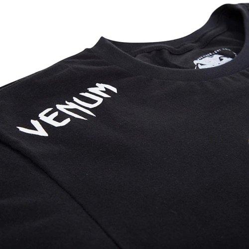 Férfi póló, Venum, Challenger, pamut, fekete
