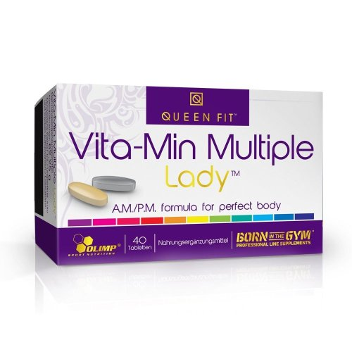 Olimp, Queen Fit VITA-MIN Multiple Lady vitamin komplex nőknek,  60 kapszula