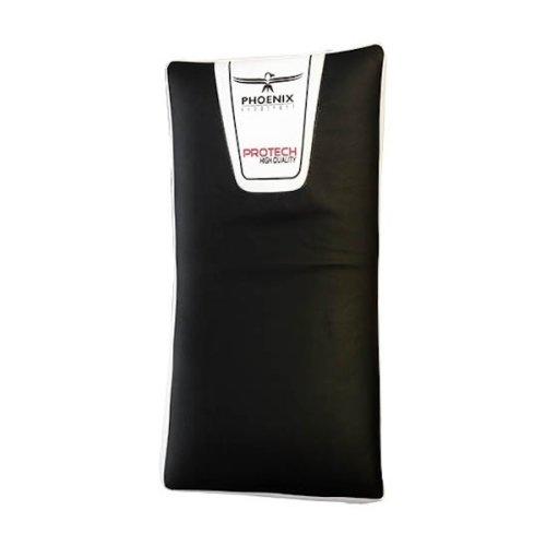 Rúgópajzs, 75*35*15cm, 6 rétegű szivacs-gél betét, fekete-fehér