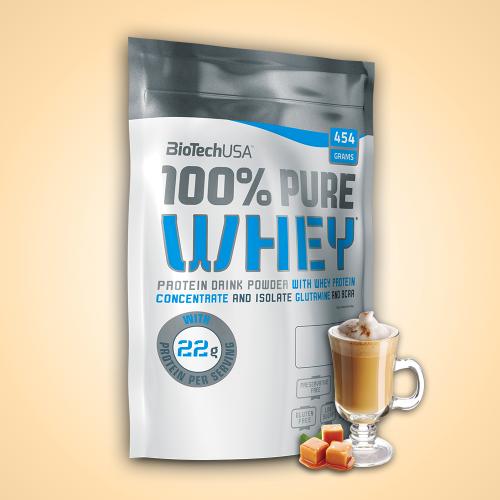 Biotech, 100% Pure Whey, 454 g, 16 ízben, Banán ízek