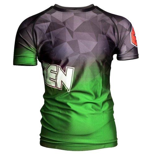 MMA Rashguard, Top Ten, Prism, Zöld szín, XXL size, Zöld szín, XXL méret, Zöld szín, XXL mărimea, Zöld szín, XXL size, Zöld szín, XXL méret, Zöld szín, XXL méret