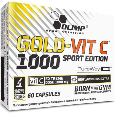 Olimp, Gold-Vit C Sport Edition, vitamin, 60 kapszula