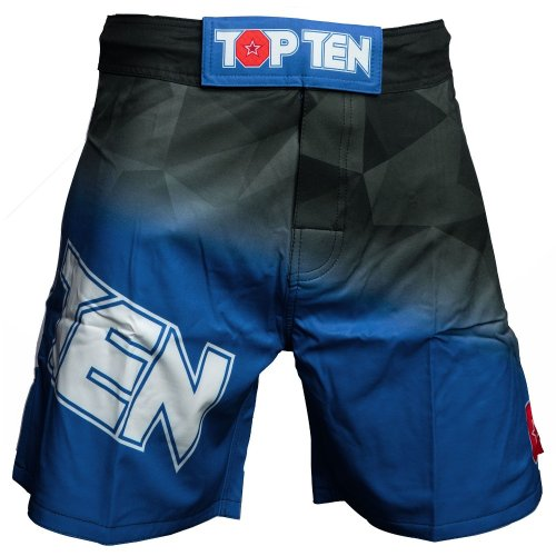 MMA Shorts, Top Ten, Scratched, black, Kék szín, S size, Kék szín, S méret, Kék szín, S mărimea, Kék szín, S size, Kék szín, S méret, Kék szín, S méret