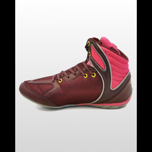 Box cipő, Strike, burgundi-pink