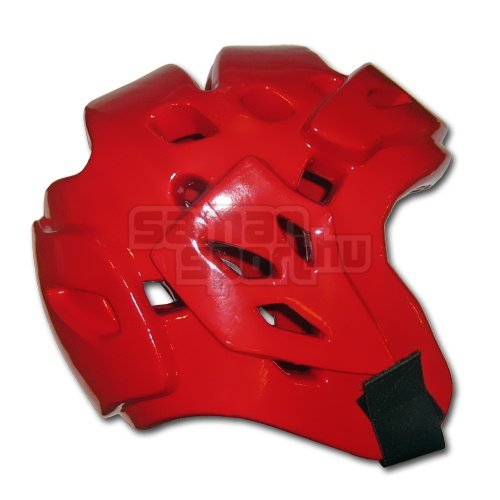 Fejvédő, Saman, Fight, Dipped foam, piros, XL méret