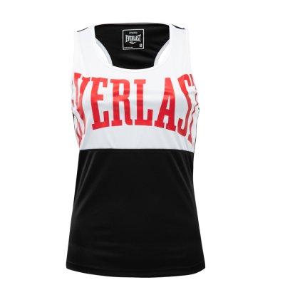 Box trikó, Everlast, Laly Tank, női, Fekete-fehér szín, L méret