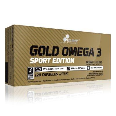 Olimp, Gold Omega-3 Sport Edition, 120 kapszula