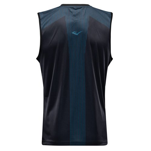Box trikó, Everlast, Jab, férfi, Fekete-kék szín, L méret